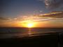Couch� de soleil sur la plage de Ste Marguerite