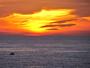 Sanary � 18 h 55... un 2eme coucher de soleil ! sympa aussi (je crois !)
