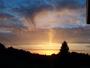 Ciel  coucher de soleil  nuages