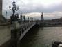 Ciel nuageux pont alexandre 3 a paris