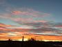 Lever de soleil en provence