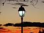 Joli ciel au coucher du soleil!!!au jardin du peyrou.