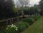 Hier, �claircie par le jardin..