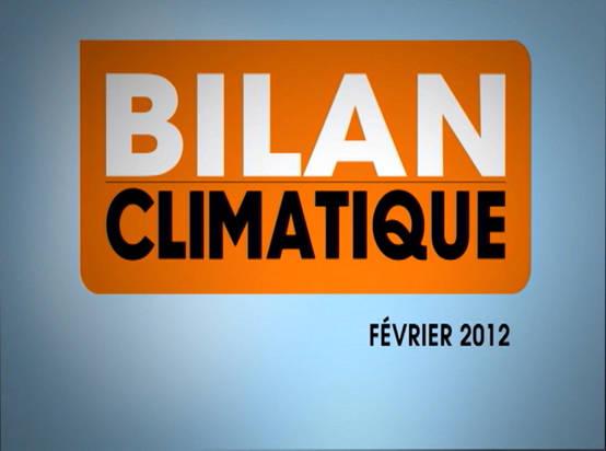 Vidéo Bilan Climatique de Février 2012