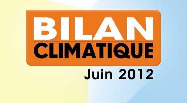 Vidéo Bilan climatique de juin 2012