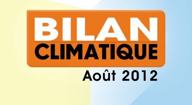 Vidéo Bilan climatique d'Août 2012