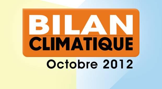 Vidéo Bilan climatique d'octobre 2012