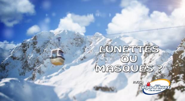 Vidéo Lunettes ou masques