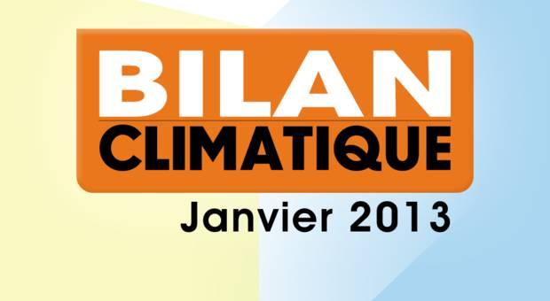 Vidéo Bilan climatique de janvier 2013