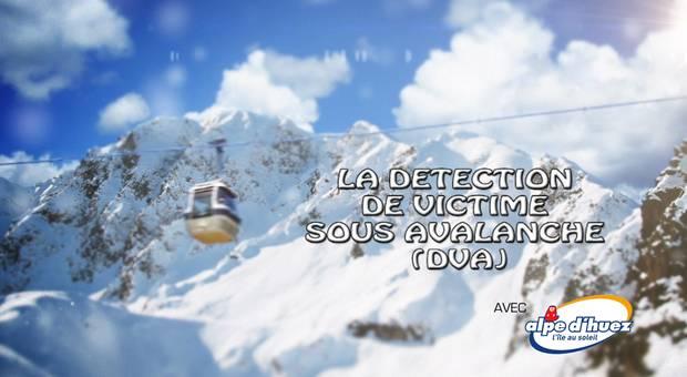 Vidéo Détection de victime sous avalanche (DVA)