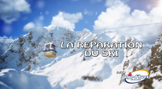Vidéo La réparation du ski