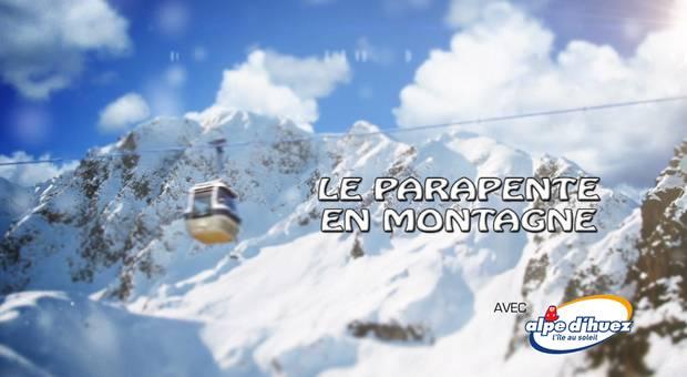 Vidéo Le parapente en montagne