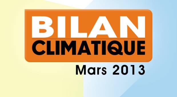 Vidéo Bilan climatique de mars 2013