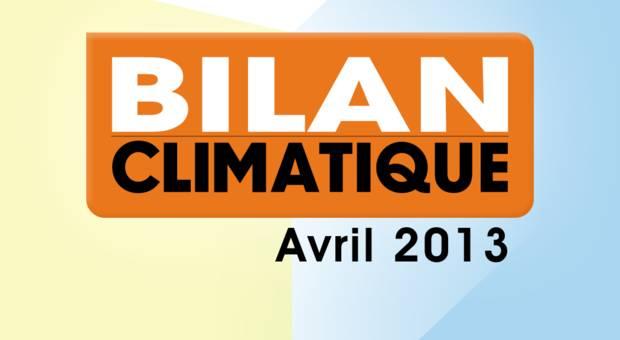 Vidéo Bilan climatique d'avril 2013
