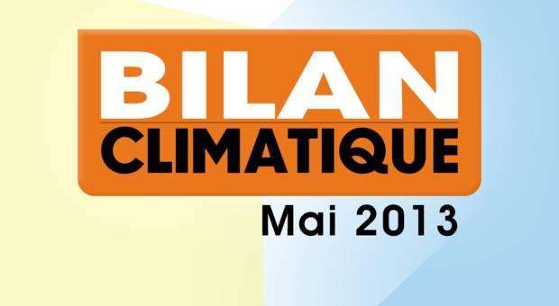 Vidéo Bilan climatique de mai 2013