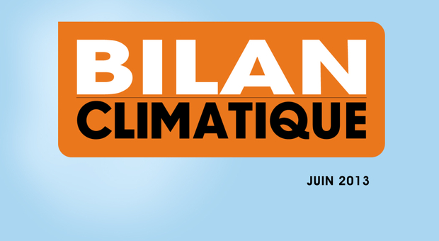 Vidéo Bilan climatique de juin 2013
