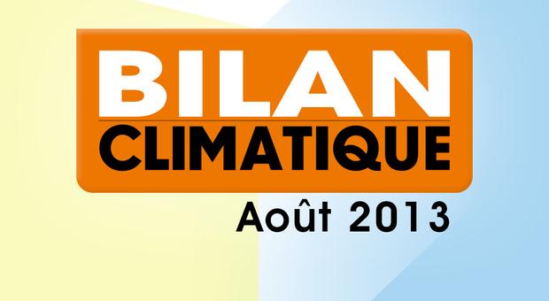 Vidéo Bilan climatique d'Août 2013