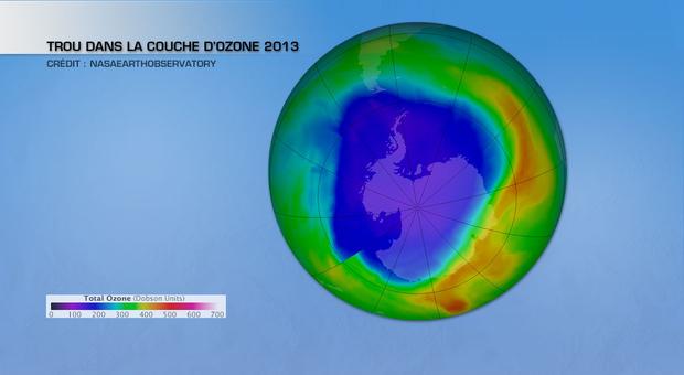 Actualit m t o trou dans la couche d ozone am lioration en 2013 la cha ne m t o - Trou de la couche d ozone ...