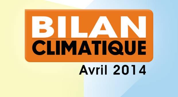 Vidéo Bilan climatique d'avril 2014
