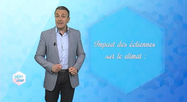 Vidéo Impact des éoliennes sur le climat