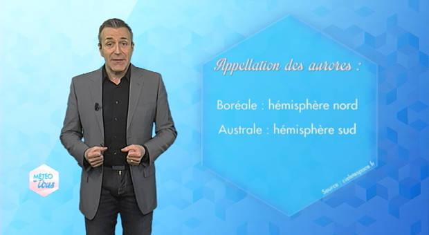 Vidéo Aurores boréales et météorologie