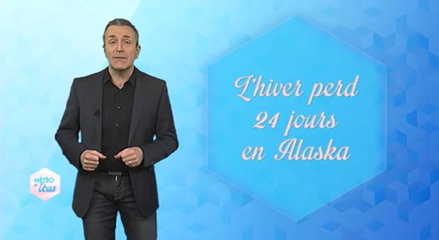 Vidéo L'hiver perd 21 jours en Alaska