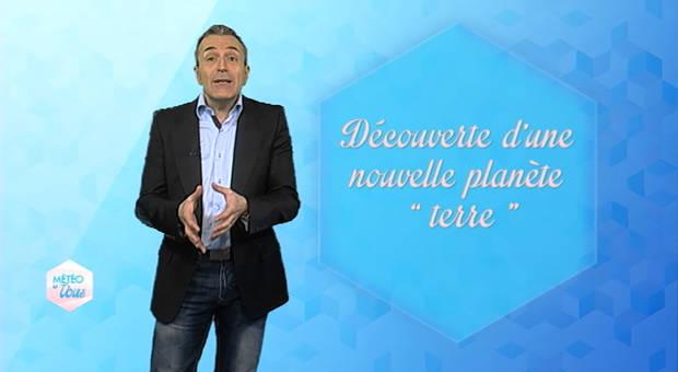 Vidéo Découverte d'une nouvelle planète terre