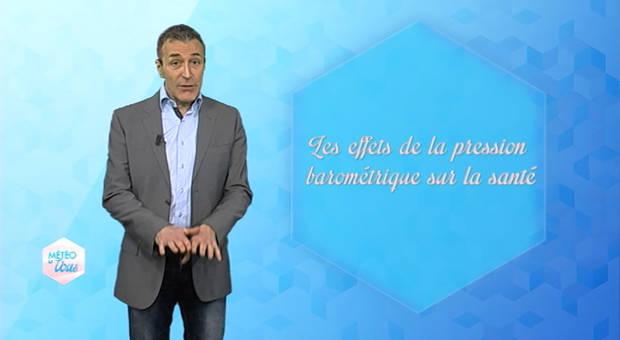 Vidéo Pression baromètrique et santé : le lien