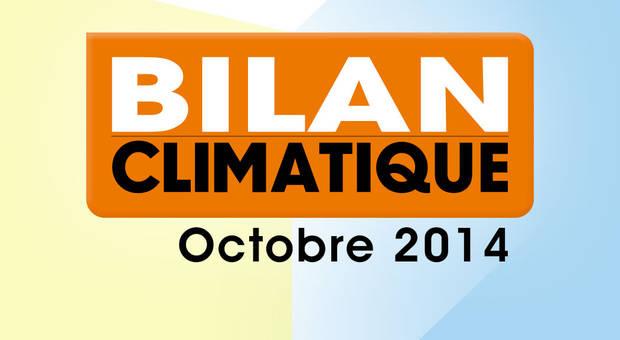 Vidéo Bilan climatique d'octobre 2014