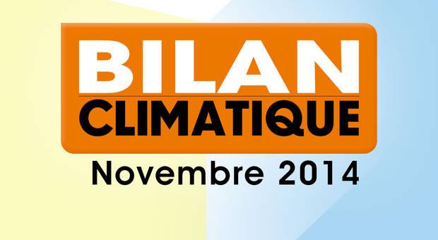 Vidéo Bilan climatique de novembre 2014