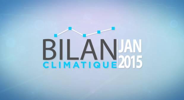 Vidéo Bilan climatique de janvier 2015