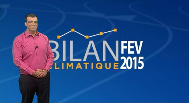 Vidéo Bilan climatique de février 2015