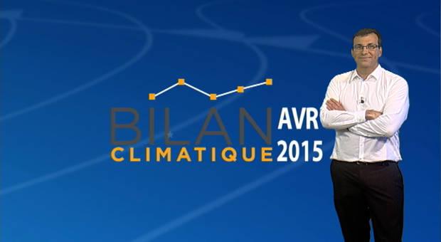 Vidéo Bilan climatique d'avril 2015