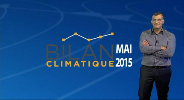 Vidéo Bilan climatique de mai 2015