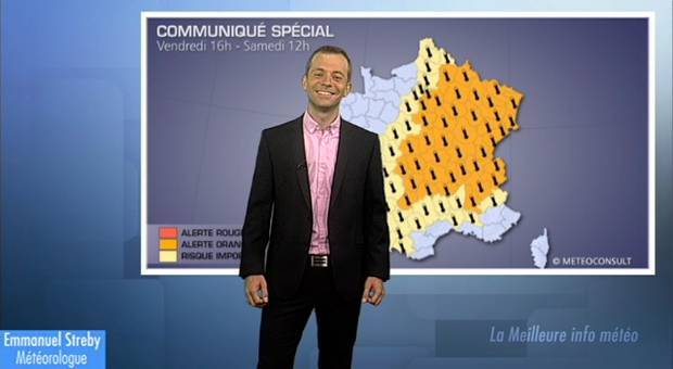 Alerte orange canicule