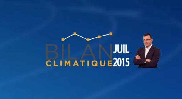 Vidéo Bilan climatique de juillet 2015