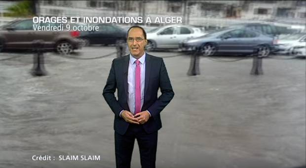 M�t�o Maghreb : inondations en Alg�rie