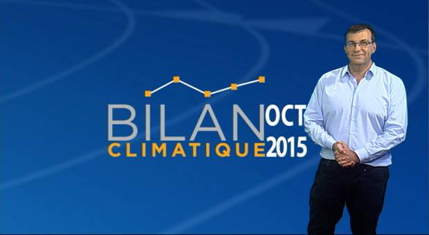 Vidéo Bilan climatique d'octobre 2015