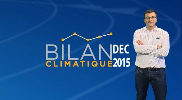 Vidéo Bilan climatique de décembre 2015
