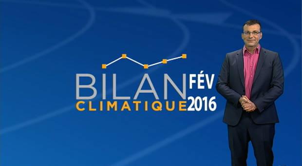 Vidéo Bilan climatique de février 2016