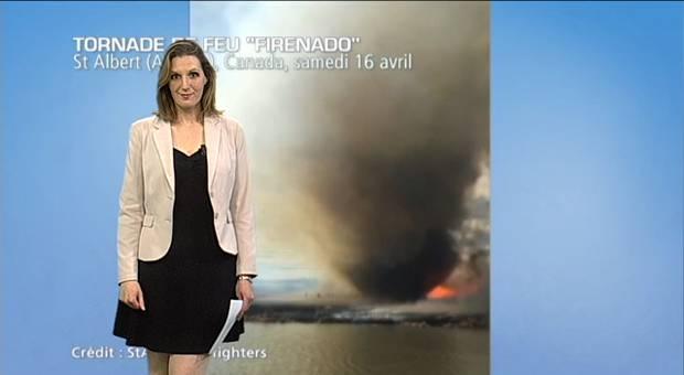 Vidéo Tornade de feu au Canada