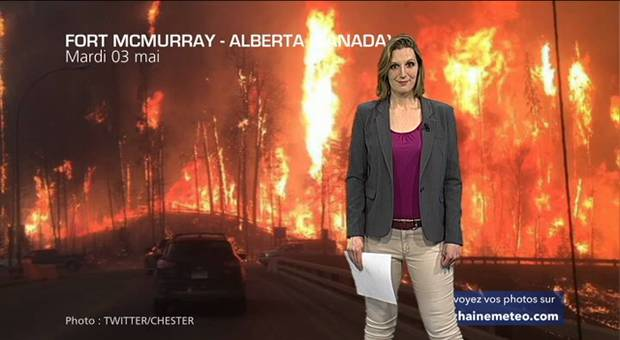 Vidéo Gigantesques incendies au Canada