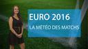 Euro 2016 : la m�t�o des matchs de ce mercredi...