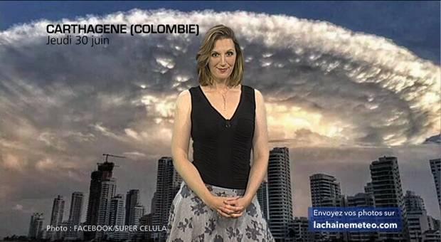 Vidéo Nuage nucléaire en Colombie ?