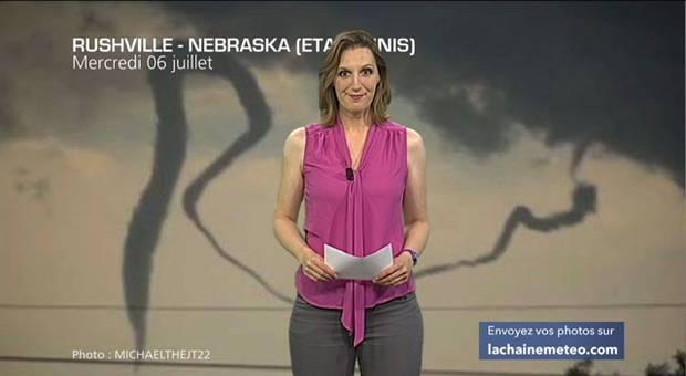 Vidéo Tornade lasso au Nebraska