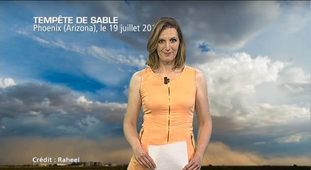 Vidéo Tempête de sable en Arizona
