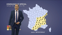 Alerte m�t�o : forts orages entre le sud-ouest...