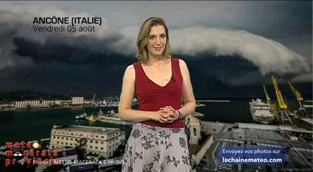 Vidéo Violents orages en Italie