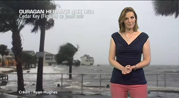 Vidéo Ouragan Hermine sur la Floride