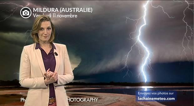 Vidéo Violents orages en Australie